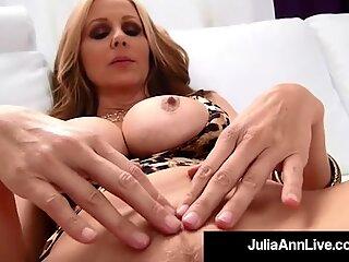 Pula lins milf Julia Ann milks pula în ei ...