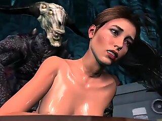 Terapia sexuală de către monstru