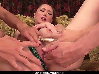 Hot Japanese fetish porn with sensual Aya Mikami