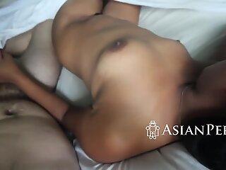 Chubby hairy asian wants a dick deep inside her vagina