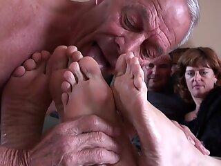 Blow Picioare de sex masculin