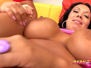 PervCity Japanese Gets it Up Her Ass Hole