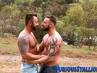 Musculosas Gay Dude Follada Dura