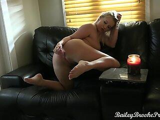 Solo Anal Masturbation and Tease