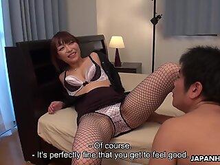 Japoneză Pula Teaser, Yui Ayana este ușor de sniffing Pula, necenzurat