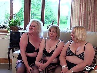 Agedlove trei doamne mature care ocupă o singură Pula