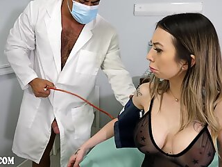 I fucked 2 doctors - Kat Dior, dillon diaz, draven navarro - sex anal bisexual în 3