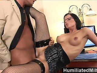 HumiliatedMilfs Shes so dedicated that she