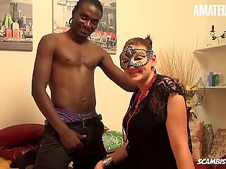 ScambistiMaturi - Big Natural Tits German Mature Intense Pussy Fuck With Horny BBC - AMATEUREURO