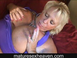 Hot Granny Interracial