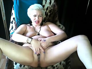 Devilishly sexy mature blonde russian bitch AimeeParadise...